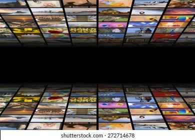 Digital hdtv broadcast concept