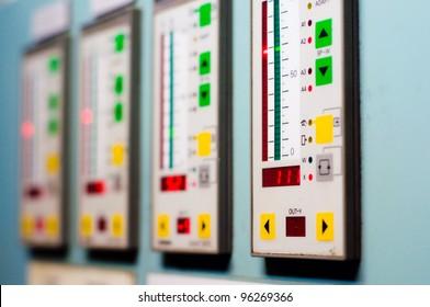 Digital Indicators in control room