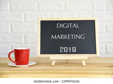 DIGITAL MARKETING 2019 Business Concept