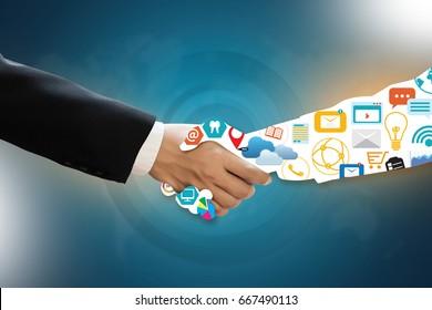MARKETING NUMÉRIQUE nouveau projet de démarrage , Chaînes interactives , Travail technologique d'innovation en entreprise