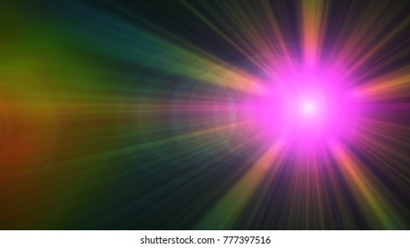 Digital Natural lens flare , Abstract overlays background.