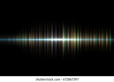 digital  neon sound waves.colorful musical bar in dark background.glowing particles and wireframe for  technology concept. abstract background