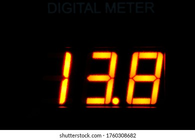 digital numbers of display power supply radio communiction.