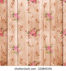 Digital Paper Scrapbook Light Brown Wood Backgrounds Textures Stock Image 223845196
