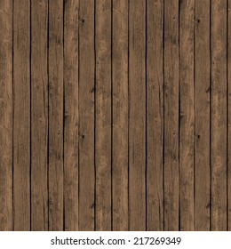 Digital Paper for Scrapbooking Rusty Brown Wood Texture seamless
