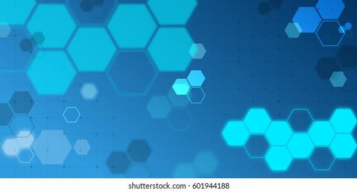 Digital polygonal background wallpaper banner