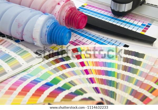 Digital Printing Toner Stock Photo (Edit Now) 1114632233