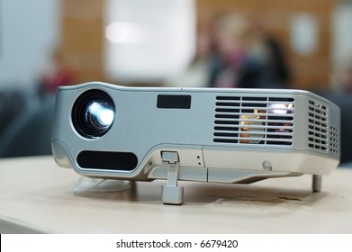 Digital Projector on the classroom