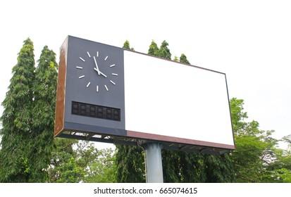 Digital scoreboard.scoreboard in stadium