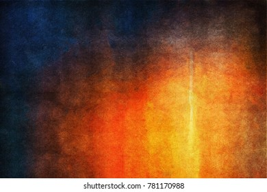 Digital structure of painting. Abstract art vintage background