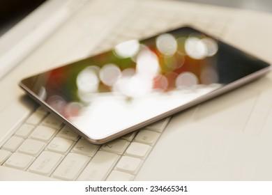 Digital tablet over laptop