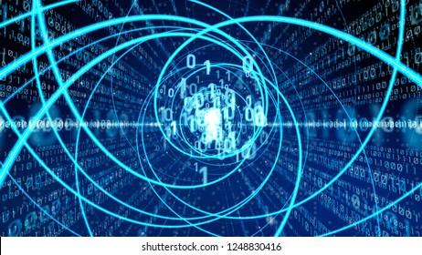 Digital tranformation concept.
