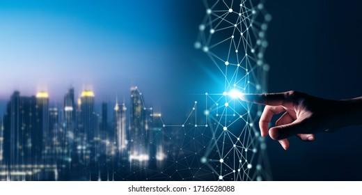 Digital transformation conceptual for next generation of smartcity conceptual