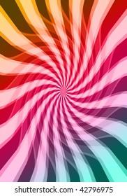 digital twirl  background