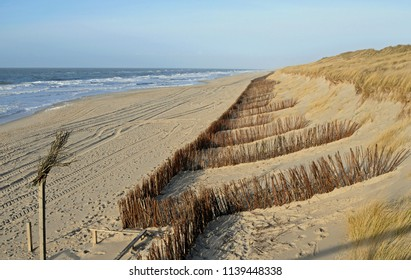 Dike protection along the North Sea coast in front of Sylt
