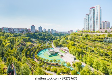 Dikmen Valley and Park - Ankara Turkey