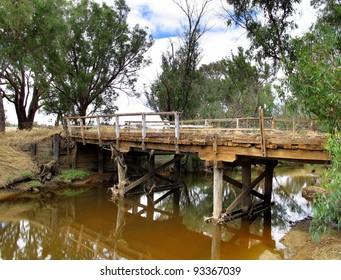 Dilapidated Old Bridge