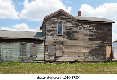 Dilapidated Wooden House