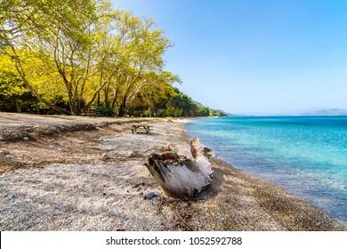 Dilek Peninsula National Park in Kusadasi Town of Turkey.