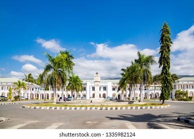 Dili, East Timor - Aug 10 2015: Palácio do Governo de Timor-Leste. Government's palace of East Timor.