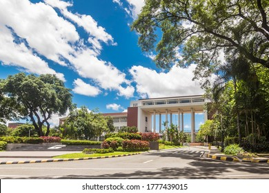 Diliman, Quezon City, Philippines - July 2020: University of the Philippines, the national university of the Philippines.