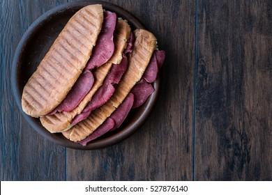 Dilli Kasarli / Beef Tongue Sandwich