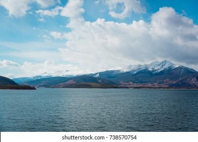 Dillon reservoir, Colorado