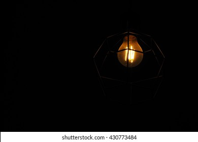 Marvelous Dim Light Bulb In A Dark Room Nice Look