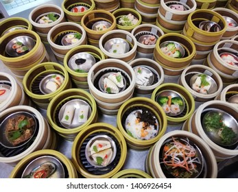 Dim sum: Chinese food in Trang Province of Thailand