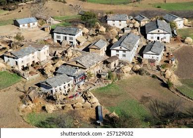 Dimarpani - small village between Kolti and Martadi - Western Nepal