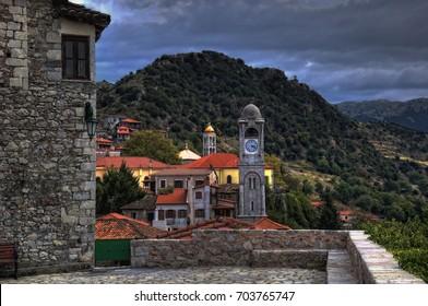 Dimitsana village in arcadia of Greece/Dimitsana