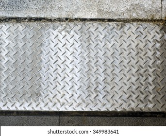 dimond metal plate background