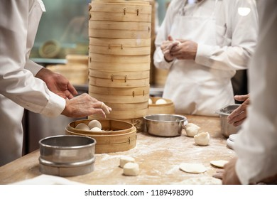 Dim-sum Made by Hand