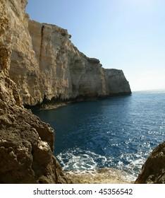 The Dingli cliffs Malta.