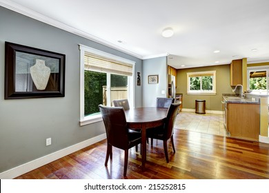 Dining area with window