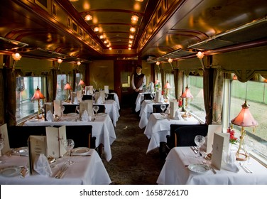 Dining car of Eastern and Oriental Express, Singapore, Republic of Singapore