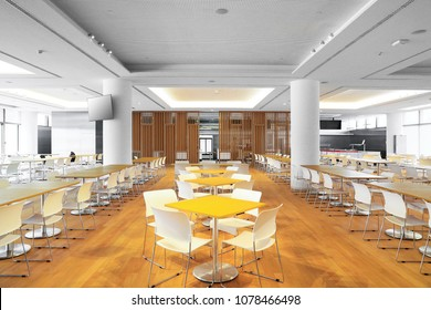Dining center in office building