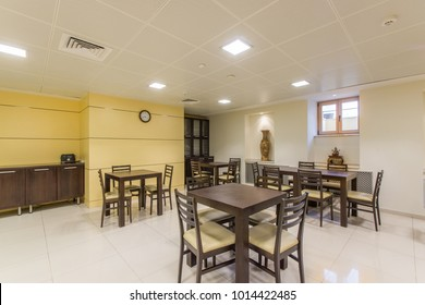 Dining room in the business center