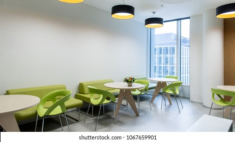 Dining room in the office building
