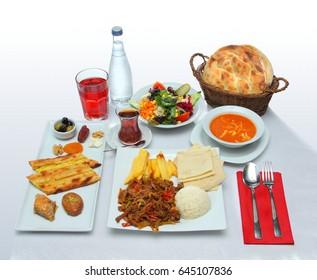 Dining Table at the Ramadan