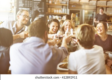 Dinner Dining Wine Cheers Party Concept