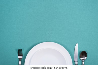 Middag plade baggrund