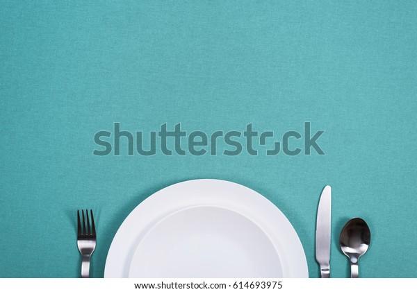 Dinner plate background