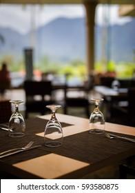 dinner at resort
