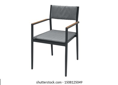 dinning chair with cushions.  furniture on a white background