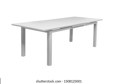 dinning table .furniture on a white background