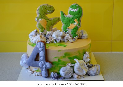 Dinosaur Cake Images, Stock Photos & Vectors | Shutterstock