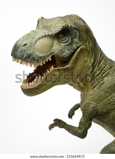 14eb749c2 Dinosaur Called Trex Mouth Open On Stock Photo (Edit Now) 233669875