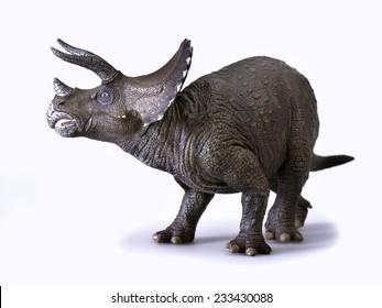Dinosaur called Triceratops