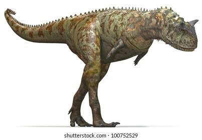 Dinosaur Carnivore hunt side